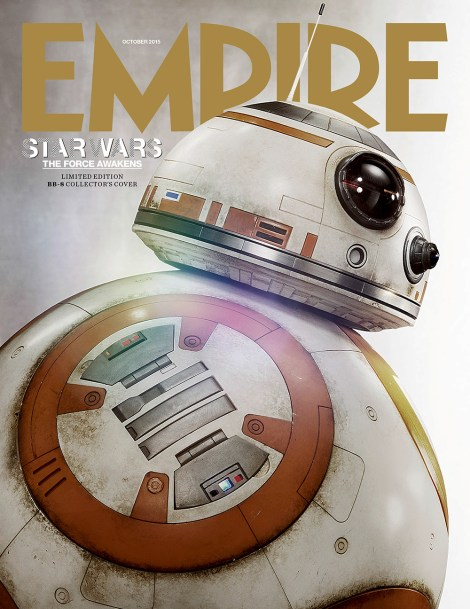 Empire Magazine Star Wars The Force Awakens Subscribers BB8 Cover Revealed