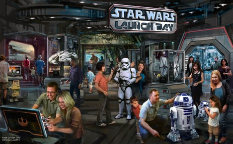 Star Wars Launch Bay Disney