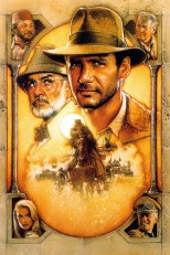 Indiana Jones and the Last Crusade Classic Film Poster Without Word all Text Removed