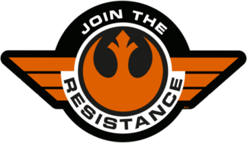 Star Wars The Force Awakens First Order and Resistance Stickers Decals Insignia_26