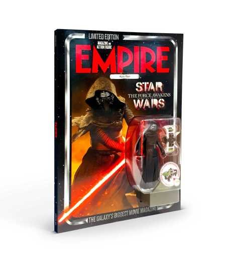 Empire magazine limited edition Star Wars The Force Awakens cover - with Kylo Ren figure