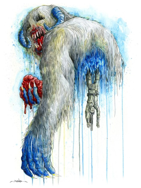 Hoth Hotel - Star Wars Art Awakens - by Alex Pardee