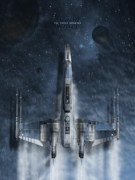 Matt Taylor The Force Awakens T-70 X-Wing - Art Awakens