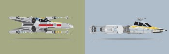 Mondo Art of the Vehicles from the Star Wars Original Trilogy by Scott Park Detail (2)