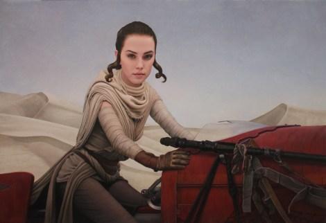 Star Wars - Art Awakens Exhibition - Art by Kris Lewis