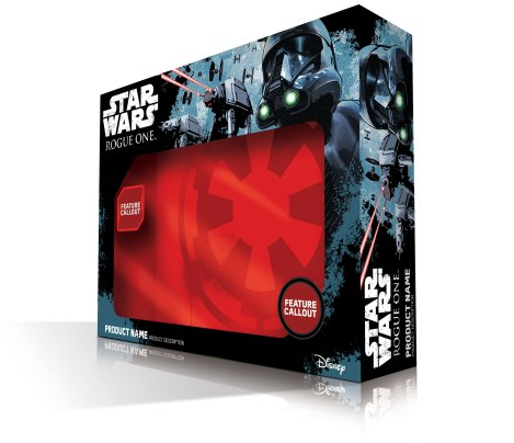 Rogue One A Star Wars Story Official Merchandise Packaging