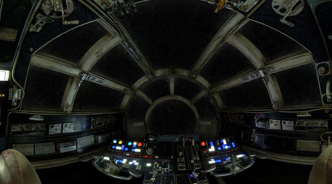 Millennium Falcon 360 Degree Cockpit Milners Blog