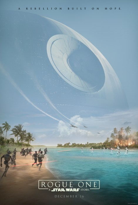 Rogue One A Star Wars Story Teaser Film Poster in Super Hi Res HD