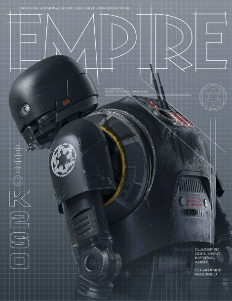 Empire Magazine Rogue One Subscriber Exclusive Cover HD Hi-Res