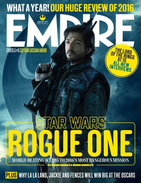 Captain Cassian Andor New Rogue One A Star Wars Story Empire Magazine Covers HD Hi-Res _3