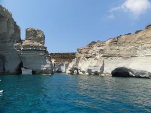 Kleftiko's caves