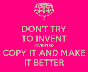 dont-try-to-invent