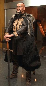 Крум кхан - први бугарски вођа.