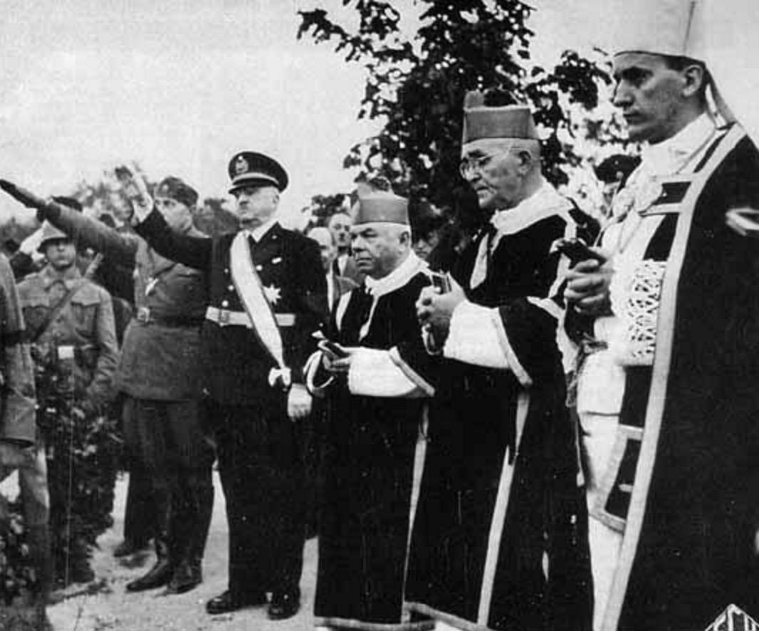 Усташе-католичка црква- Алојзије Степинац
