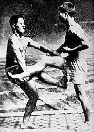 Chojun Miyagi & Juhatsu Kiyodaj