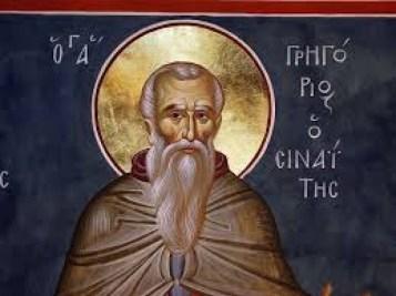 Григорије Синаит ћутљиви је у Србији кнеза Лазара подигао манастир Горњак, а на Светој Гори манастир Григоријат.