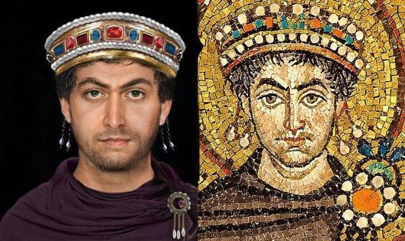 car Justinijan rekonstrukcija izgleda