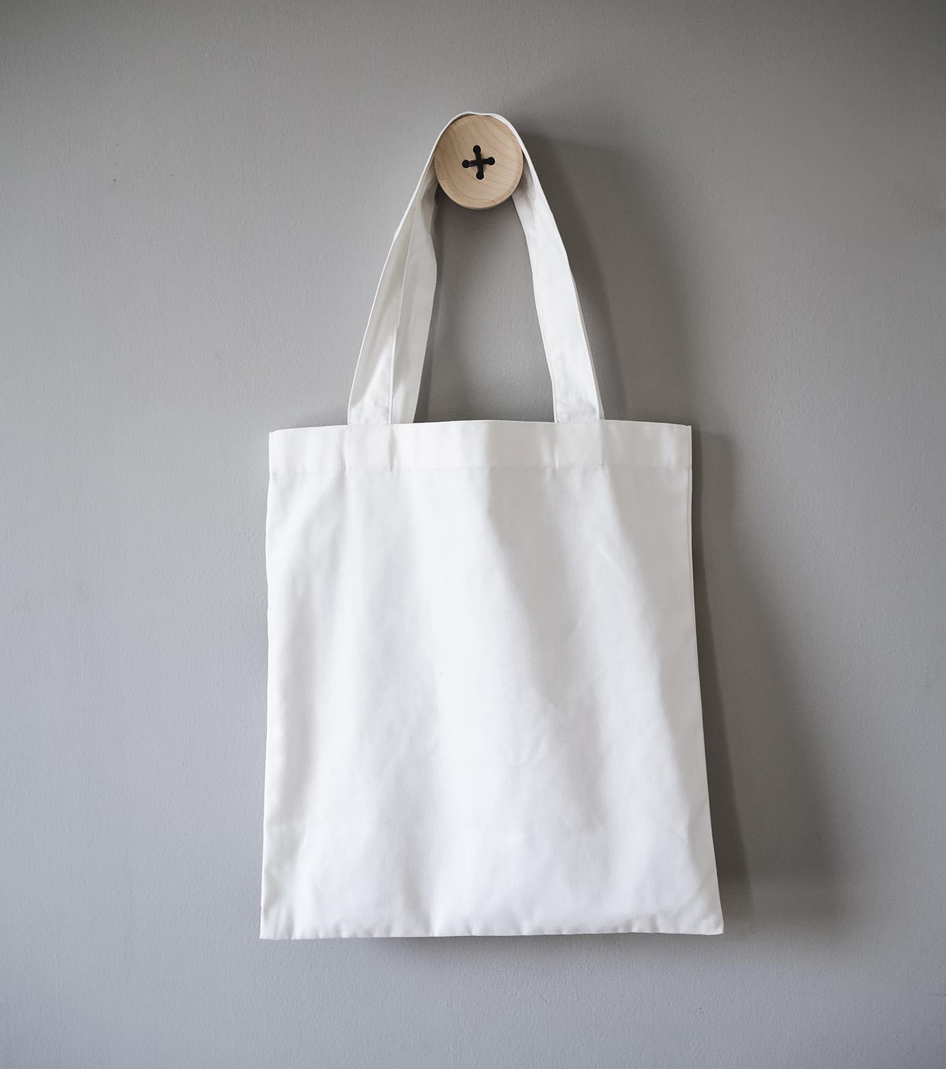 Βαμβακερή Τσάντα με Σχέδιο Μεταξοτυπίας