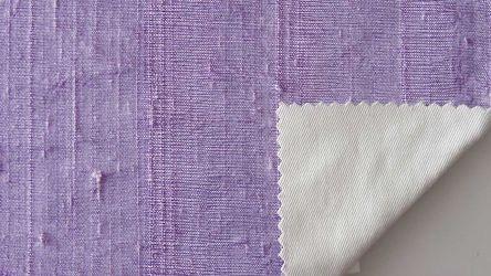 Dupioni silk lilac