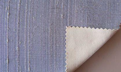 Μετάξι Dupioni silver-grey
