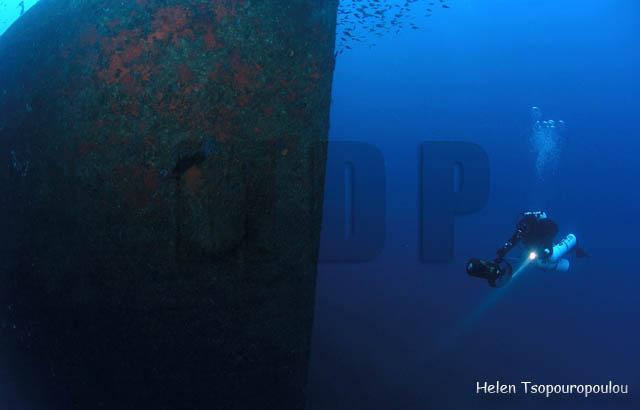 D10_03 'Αρτεμις Πίττα' - η πλώρη - 2 / 'Artemis Pitta' - the bow - 2