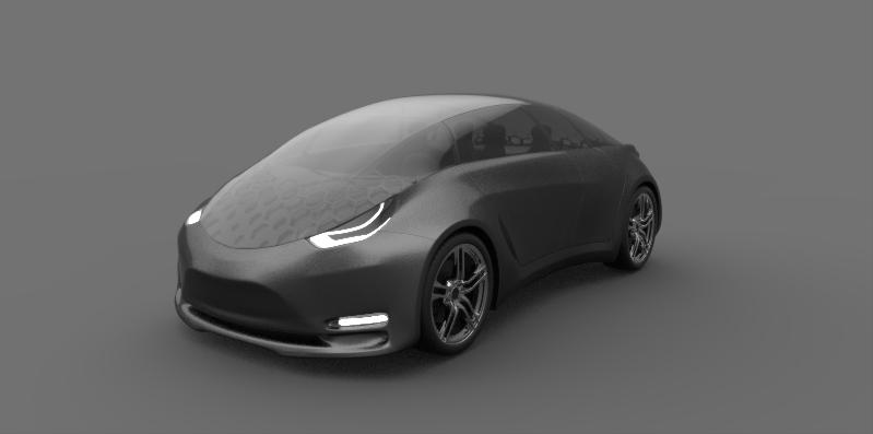 Tesla Model B Concept Car Milos Paripovic Blog