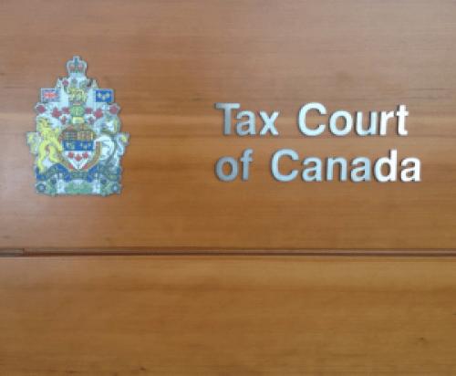 Tax Court Canada Milot Law GLGI