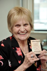 Judy Juntunsen of Atlantic Mine claims $19 million from the 2/5/2013 Mega Millions drawing.