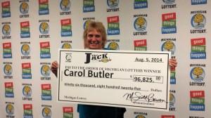 Carol Butler The Jack Winner
