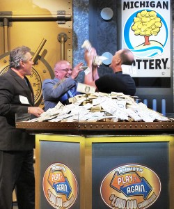 $1,000,000 Play it Again Winner Gary Mayberger Celebrates