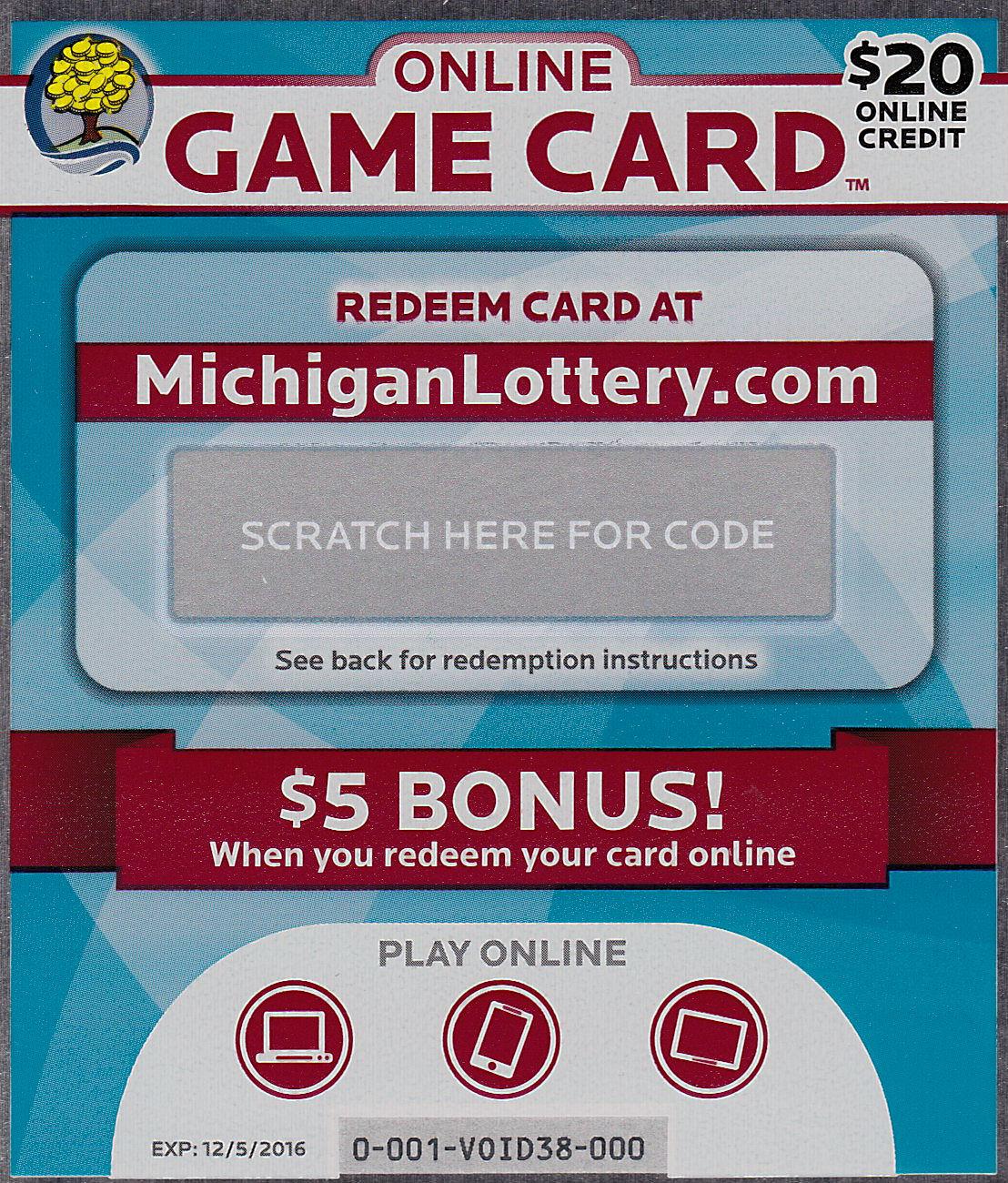 Michigan lottery online gambling slots online demo