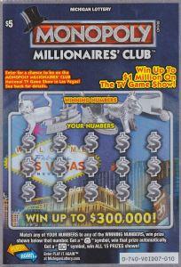 MI Monopoly Millionaires Club 740