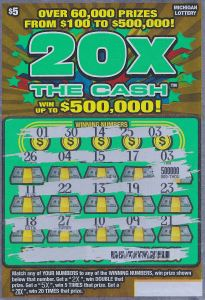 06.01.15 20X the Cash #714, $500,000 Anonymous, Charlevoix