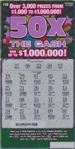 06.03.15 50X The Cash IG# 715 $1 Million Anonymous Wayne County