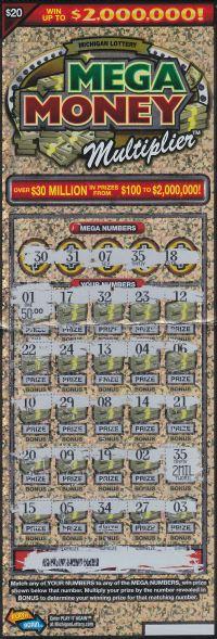 09.11.15 IG #722 Mega Money Multiplier $2,000,000 Anonymous Monroe County