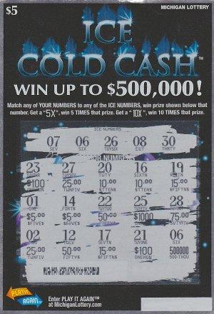 12.28.15 Ice Cold Cash IG# 777 $500,000 Anonymous Wayne County