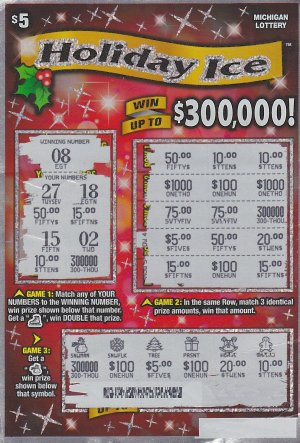 12,28,15 IG #748, Holiday Ice $300,000 Anonymous, Jackson County