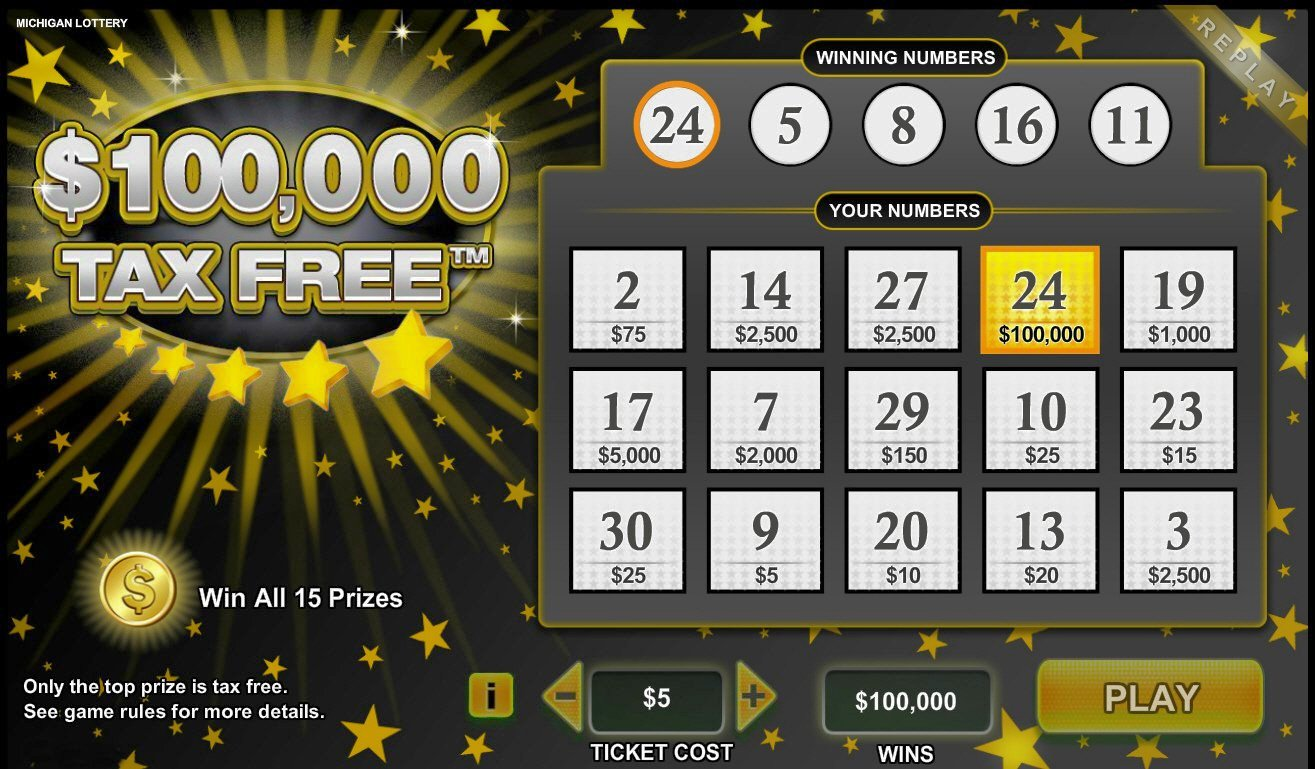 Play online games for winning prizes and taxes