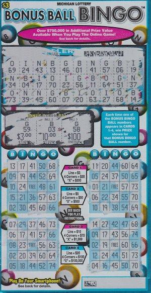 08.29.16 Bonus Ball Bingo #760 $100,000 Anonymous St. Joseph