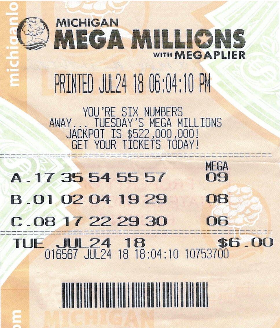 What are mega millions prizes michigan