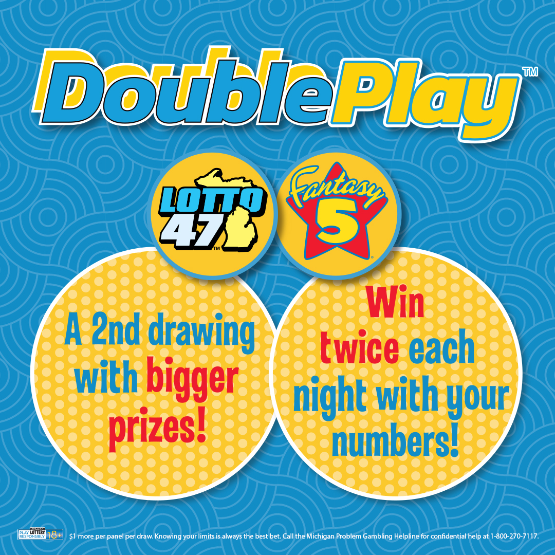 Double Play Gives Fantasy 5 and Lotto 47 Players a New way