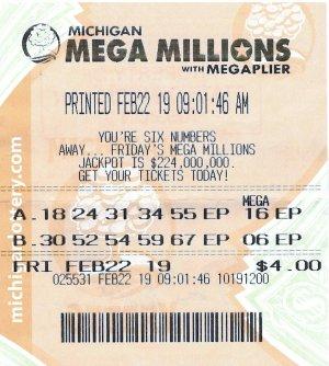 Klemish's winning ticket.