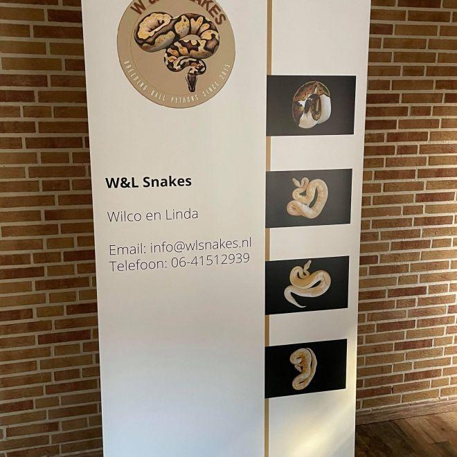 Rolupbanner W&L Snakes