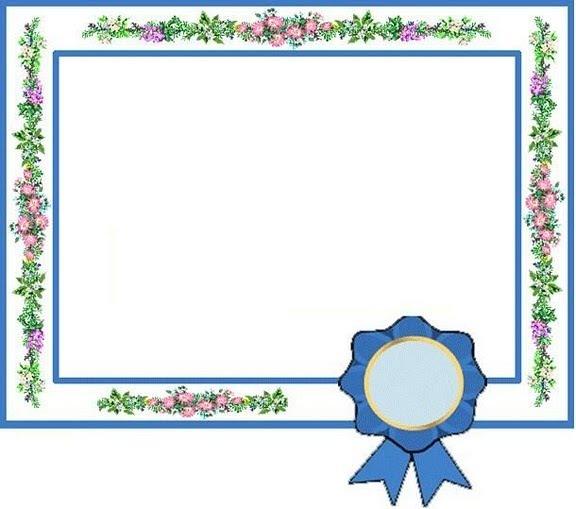 Certificados O Diplomas Para Imprimir Y Completar Mil