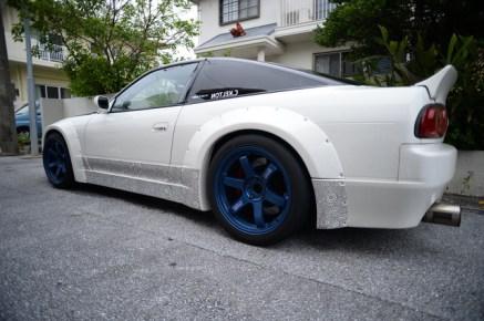 Sharpie detail car
