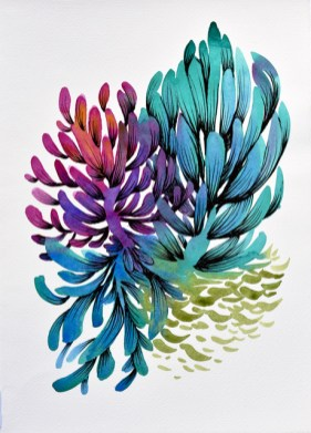 LaValley-Iridescent Jungle Vignette10x14