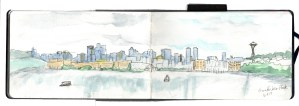 Urban Sketch Seattle