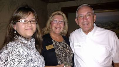 Natalie Adis, Digital Marketing Manager MILSPRAY Military Technologies™, Sue Sedivec CEO BBBSOC, Ralph Wolff, 2nd Vice Chair of Greater Toms River Chamber of Commerce