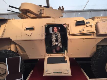 Ellen Textron Vehicle