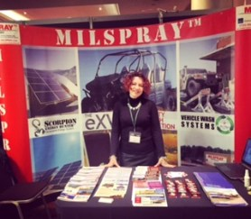 MILSPRAY Rose Suite International Armoured Vehicles Ellen Cox